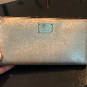 Rebecca Minkoff Gold Wallet Good Condition!